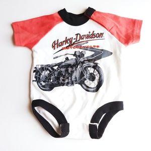 Baby Harley Davidson Onsie Size 0-3 Months